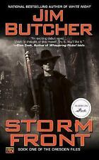 Dresden Files: Storm Front 1 by Jim Butcher (2000, Paperback)