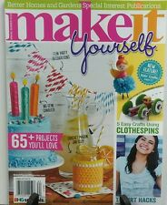 Better Homes and Gardens Make It Yourself Spring Summer 2016 FREE SHIPPING
