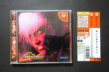 THE KING OF FIGHTERS 99 + Spine Sega Dreamcast JAPAN Good/Very.Good.Condition !
