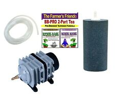 Boogie Brew PRO Kit / 6lbs Boogie Tea PRO - 45L Air Pump, Large Stone & Air Tube