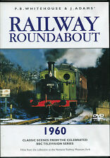 RAILWAY ROUNDABOUT 1960 TRAINS DVD - P.B. WHITEHOUSE & J. ADAMS