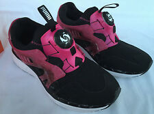 new PUMA Disc Lite Opulence 356280-02 Marathon Running Shoes Women's 8.5 Black