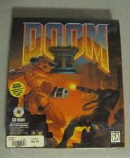 SEALED Doom II 2 PC game CD-ROM ID Software 1995 Big Box