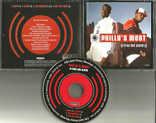 PHILLY'S MOST Ring the Alarm w/INSTRUMENTAL & CLEAN PROMO DJ CD single wanted