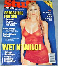 Stuff Magazine April/May 2000 Natasha Hensbridge Shakira Liz Hurley Barry White