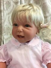 "Lee Middleton Custom Full Vinyl Limb Toddler Doll ""Me And My Dolly"""