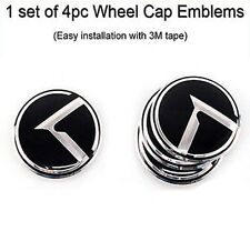 [Kspeed] K Logo WheelCap Emblems(Fit: Kia Picanto Morning Forte Koup mohave)