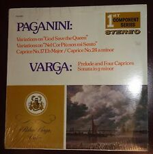 """Paganini: Variations on """"God save the Queen"""" / Varga: Prelude .. SEALED LP, MINT"""