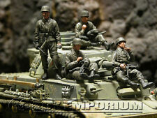 Custom Built 1:35 WWII German Tank Riders Soldier Set