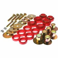 Energy Suspension 67-81 Camaro & 67-75 Firebird Body Mount Bushings Inserts Red