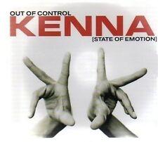 (AV455) Kenna, Out Of Control - DJ CD