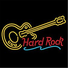 Hard ROCK LIVE MUSIC Guitar Neon Light Sign Display Beer Bar Pub Club NER129