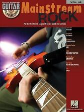 Mainstream Rock: Guitar Play-Along Volume 46 -  Book + CD  (Hal Leonard)