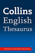 Collins English Paperback Thesaurus by Collins Dictionaries (Paperback, 2014)