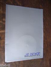 JE Design Individualprogramme für Seat, Audi, VW Pressemappe, M.Show Essen 2003
