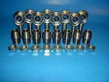 """Economy 4-Link Rod Ends Kit 3/4"""" x 3/4""""-16 Heim Joints (Fits 1-1/2 x.250 Tubing)"""