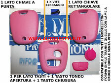 COVER CASE SHELL PINK FOR KEY REMOTE CONTROL 2 BUTTON PEUGEOT 206 107 207 307