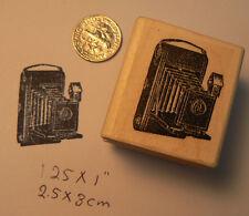 "Kodak Camera-Vintage wm rubber stamp 1x1"""