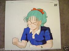 DRAGONBALL Z BURUMA BULMA ANIME PRODUCTION CEL