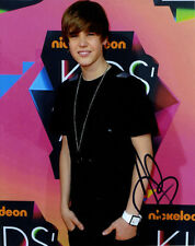 Justin Bieber ++ Autogramm ++ My World ++ One Time ++ Never Say Never