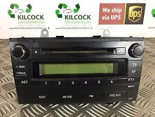 GENUINE 2009 TOYOTA AVENSIS RADIO PLAYER MP3 86120-05140  * FAST POSTAGE
