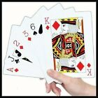 Extra Large Plastic Playing Cards Big Jumbo Giant Games Bridge Poker Big NOT a4