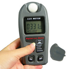 Digital Light Meter LCD Luxmeter Lux/FC Luminometer Photometer 200000Lux Camera