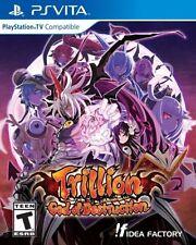 Trillion God of Destruction RE-SEALED Sony PlayStation Vita GAME