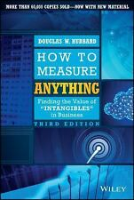 How to Measure Anything : Finding the Value of Intangibles in Business by...
