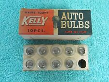 KELLY  6 AND 8 VOLT  TAIL LIGHT BULBS  BOX OF ( 9 )  NOS 416
