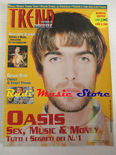 rivista TREND 10/1997 Oasis Energy Street Parade Rolling Stones Bob Marley No cd