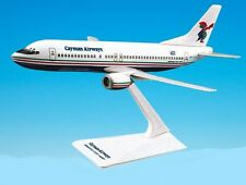 Flight Miniatures Cayman Airways Boeing 737-4 Desk Display 1/185 Model Airplane