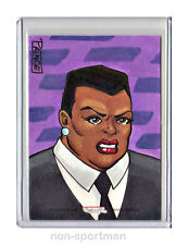 DC THE WOMEN OF LEGEND CRYPTOZOIC AMANDA WALLER SKETCH BUDDY PRINCE