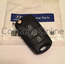 Genuine Hyundai i20 / iX35 Remote Key Cut to Your Car - 95430-1J050