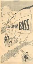 1953 Bill Stickers Working for Bass On The White Cliffs