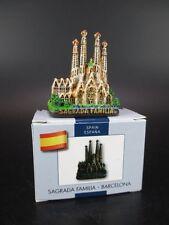 Barcelona Sagrada Familia Gaudi Model,Souvenir Spain ,handpainted