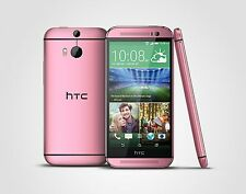HTC One M8 16GB Pink Unlocked / SIM FREE Smartphone / Mobile Phone