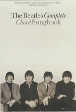 The Beatles Complete Chord Songbook Guitar Chord Boxes Lyrics Sheet Music B80