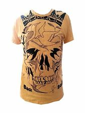 a2 Men T Shirt Scull Heavy metal Rock Space Retro Birds Eye mistery M RARE Sure