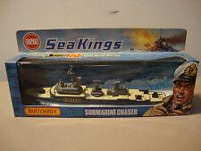 VINTAGE RARE LESNEY MATCHBOX SUPERFAST SEA KINGS SUBMARINE CHASER K-305 *NEW*