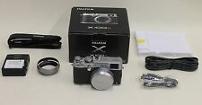 BNIB FUJIFILM X-Series X100S 16.3MP Digital Camera Silver Retro Style DSLR Set
