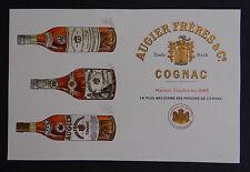 Carte de visite publicité non pliée 1900 COGNAC AUGIER FRERES  old visit card