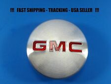 1 Center Caps Brushed Logo For GMC Sierra Yukon 83mm 3.25 2015 - 2017 22837060