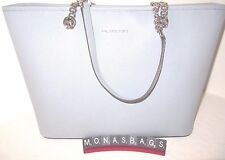 Michael Kors Jet Set Dusty Blue Chain Travel Multi function Tote Bag NWT $278