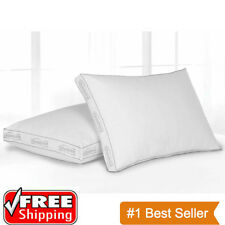 Extra Firm Pillow King Size Bed Neck Head Support Comfort Sleeping Super Firm