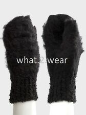 Ex Online Store Asos Brushed Boucle Mitten Gloves Winter SKI - FREE FAST TRACKED