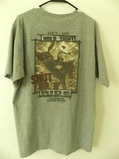 VTG. HARDCORE COWBOY GET ON HOLD TIGHT SUHT UP N' RIDE MEN'S USA MADE T-shirt L