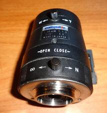 """Computar 5-50mm Vari-Focal 1/3"""" 1:1.3 CCTV Manual Iris Security Camera Lens"""
