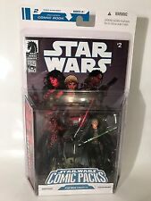 "Star Wars Comic Packs Darth Talon Cade Skywalker Set 3.75"" Action Figures Rare"