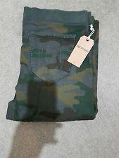 NUOVO True Religion Jeans Da Uomo Big T Grigio Camouflage Abbigliamento